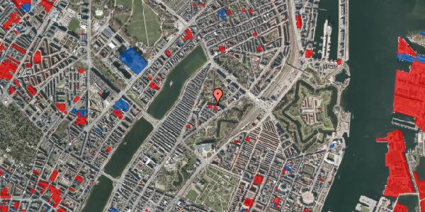 Jordforureningskort på Upsalagade 20A, 2. tv, 2100 København Ø