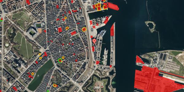 Jordforureningskort på Amerika Plads 19A, 2. , 2100 København Ø