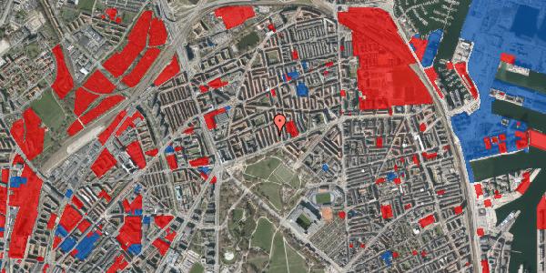 Jordforureningskort på Langøgade 4B, 2100 København Ø