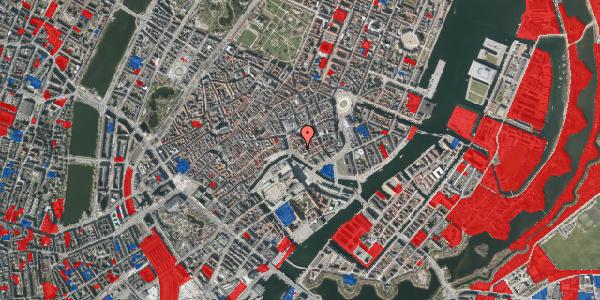 Jordforureningskort på Fortunstræde 7, 1065 København K