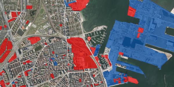 Jordforureningskort på Strandvænget 51B, 2100 København Ø