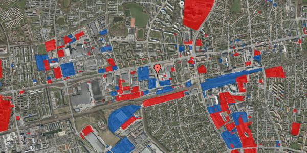 Jordforureningskort på Hermods Allé 1, 2600 Glostrup