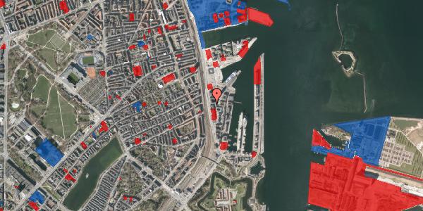 Jordforureningskort på Amerika Plads 19, 2100 København Ø