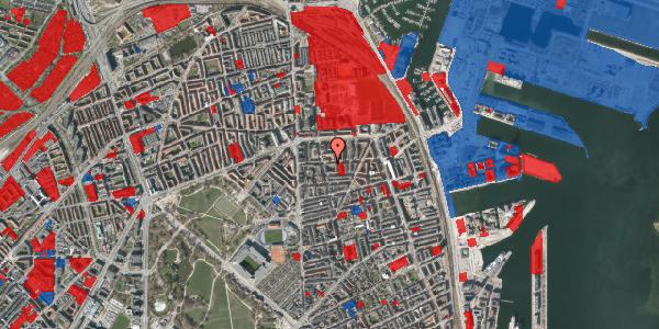 Jordforureningskort på Vordingborggade 20, 2100 København Ø