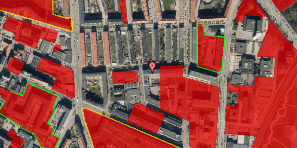Jordforureningskort på Bygmestervej 21A, 3. th, 2400 København NV