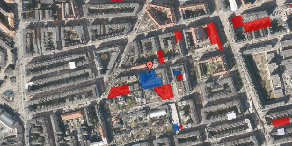 Jordforureningskort på Viborggade 70, 1. , 2100 København Ø