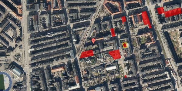 Jordforureningskort på Viborggade 42, st. , 2100 København Ø