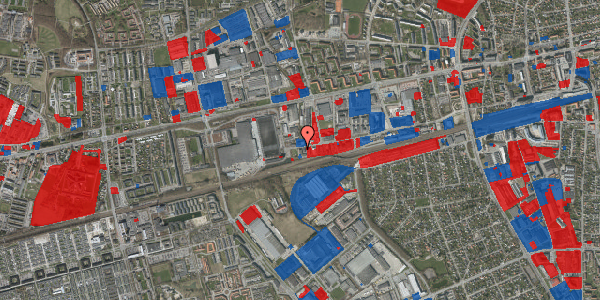 Jordforureningskort på Sydvestvej 129A, 2600 Glostrup