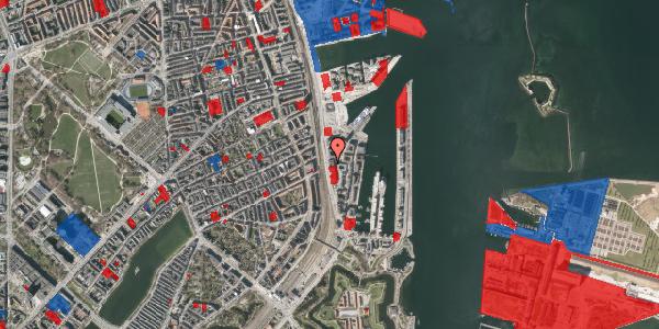 Jordforureningskort på Amerika Plads 19A, 3. , 2100 København Ø