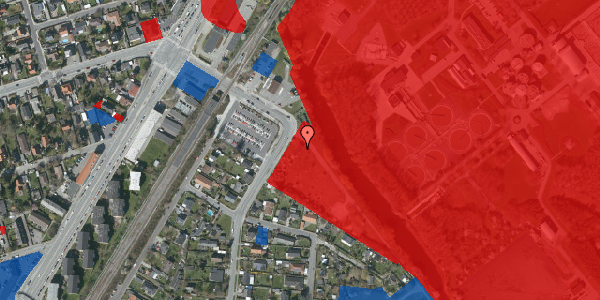 Jordforureningskort på Strandbovej 1, 2650 Hvidovre