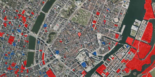 Jordforureningskort på Løvstræde 3A, 1152 København K