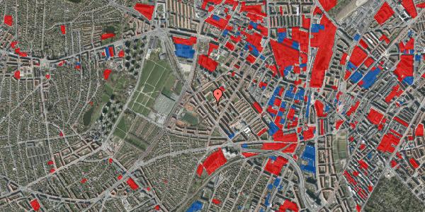 Jordforureningskort på Vestergårdsvej 14A, st. , 2400 København NV
