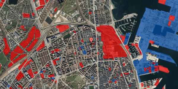Jordforureningskort på Nygårdsvej 16B, 1. , 2100 København Ø
