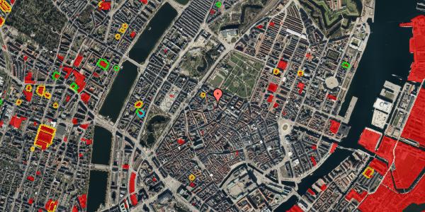 Jordforureningskort på Hauser Plads 1, 5. th, 1127 København K