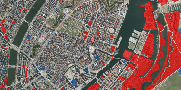 Jordforureningskort på Kongens Nytorv 22, 3. , 1050 København K
