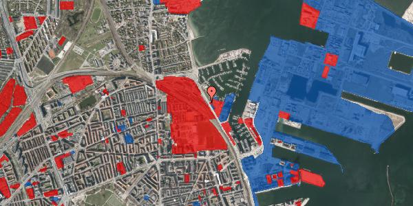 Jordforureningskort på Strandvænget 40, 2100 København Ø