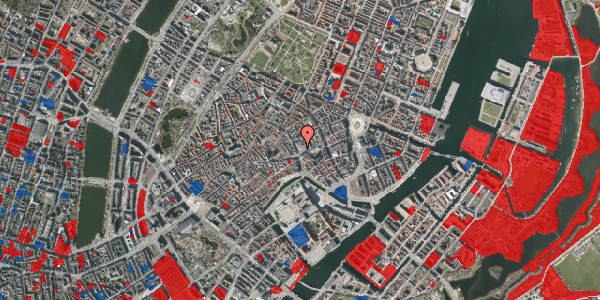 Jordforureningskort på Købmagergade 4, 1150 København K