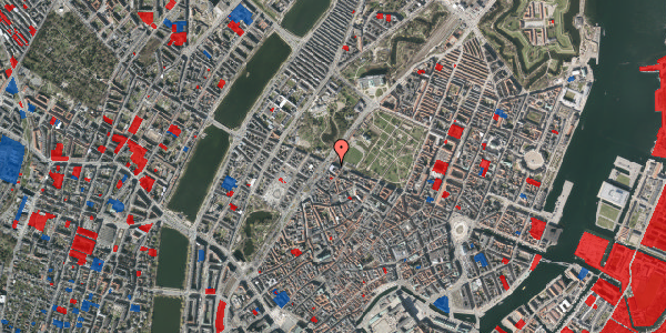 Jordforureningskort på Gothersgade 115A, 1123 København K