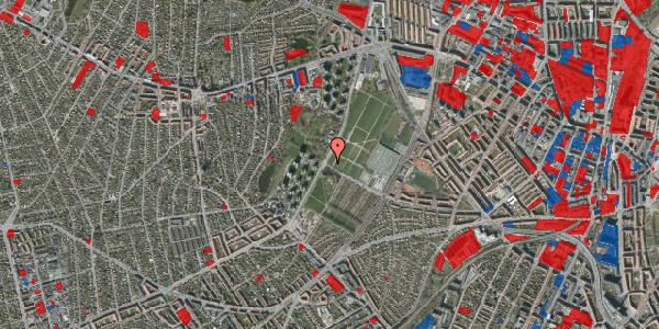 Jordforureningskort på Hvidkildevej 80, 2400 København NV