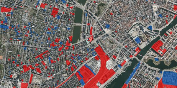 Jordforureningskort på Vesterbrogade 8, 4. , 1620 København V