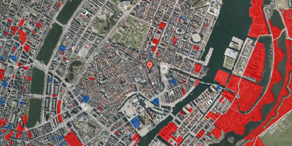 Jordforureningskort på Kristen Bernikows Gade 9, 1105 København K