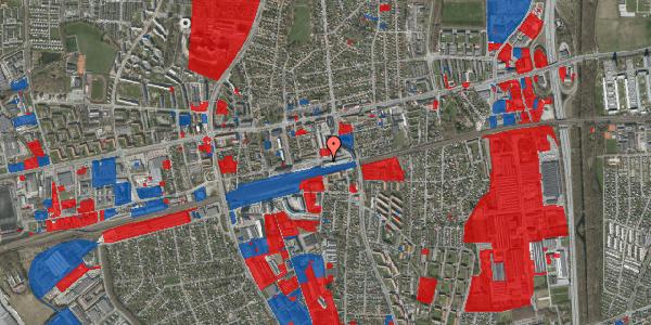 Jordforureningskort på Banegårdsvej 14, 2600 Glostrup