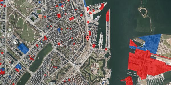 Jordforureningskort på Østbanegade 31, 2100 København Ø