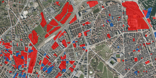 Jordforureningskort på Ragnagade 15, 3. 3, 2100 København Ø
