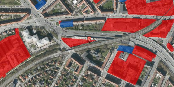 Jordforureningskort på Borups Alle 158, 2000 Frederiksberg