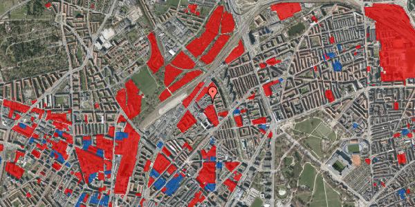 Jordforureningskort på Emblasgade 107, 1. th, 2100 København Ø