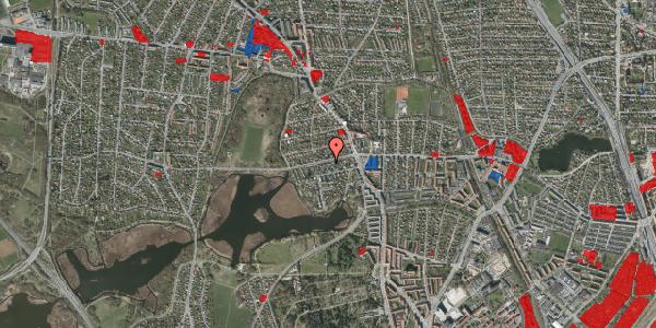 Jordforureningskort på Grønnemose Allé 13B, 2400 København NV