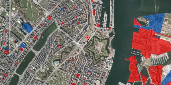 Jordforureningskort på Folke Bernadottes Allé 5, 2100 København Ø