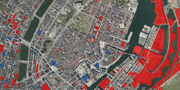 Jordforureningskort på Gammel Mønt 1, 1117 København K