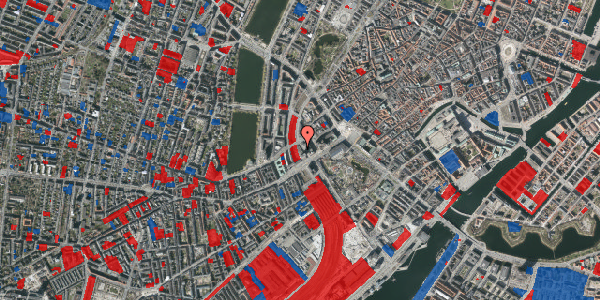 Jordforureningskort på Hammerichsgade 5, 11. , 1611 København V