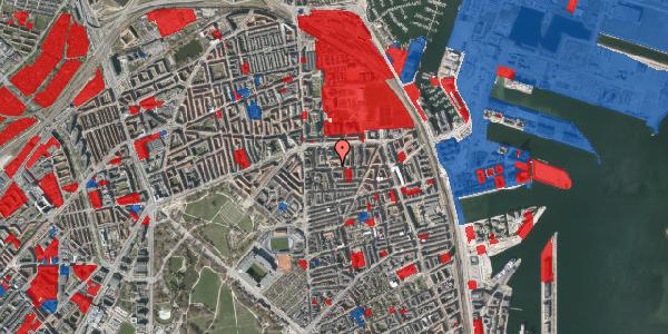 Jordforureningskort på Vordingborggade 15, 2100 København Ø