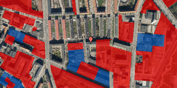 Jordforureningskort på Bisiddervej 18, st. tv, 2400 København NV