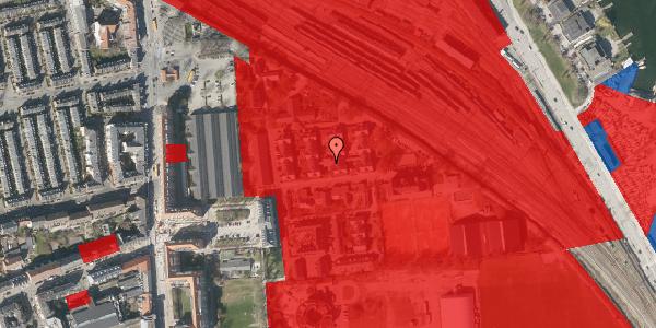 Jordforureningskort på Carl Nielsens Allé 33, 2100 København Ø