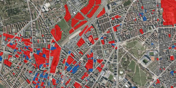 Jordforureningskort på Vermundsgade 38, 3. tv, 2100 København Ø