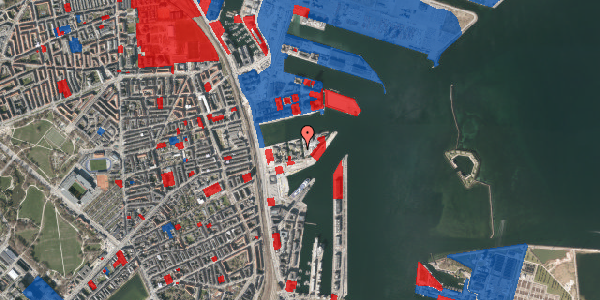 Jordforureningskort på Marmorvej 43, 2. th, 2100 København Ø