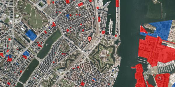 Jordforureningskort på Trondhjems Plads 8, 2100 København Ø