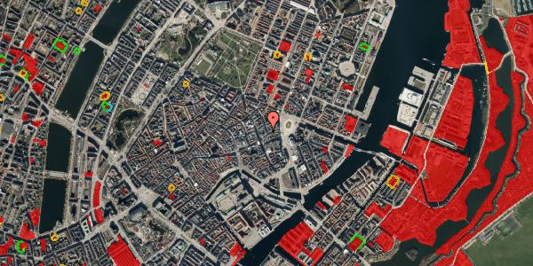 Jordforureningskort på Ny Østergade 1, 1. , 1101 København K
