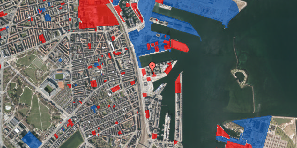 Jordforureningskort på Marmorvej 9A, 1. th, 2100 København Ø