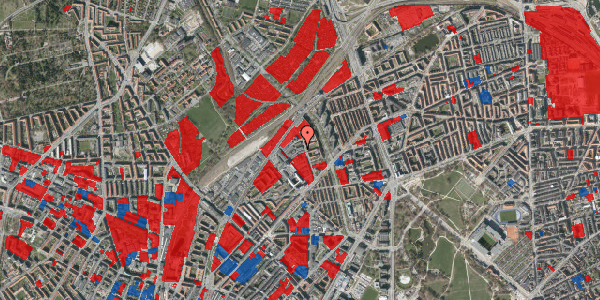 Jordforureningskort på Emblasgade 115, 1. tv, 2100 København Ø