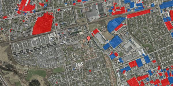 Jordforureningskort på Hvidkløvervænget 7, 2625 Vallensbæk
