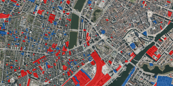 Jordforureningskort på Vester Farimagsgade 6, 1. 1043, 1606 København V