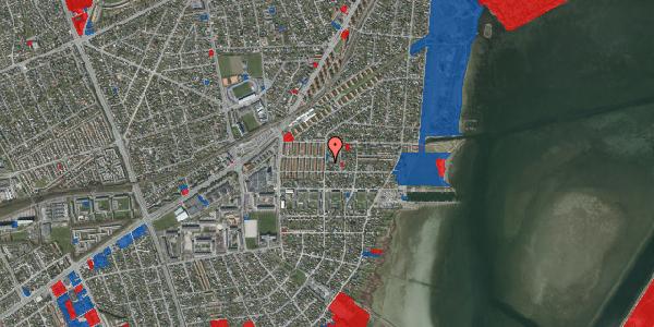 Jordforureningskort på Bavnevej 5B, 2650 Hvidovre