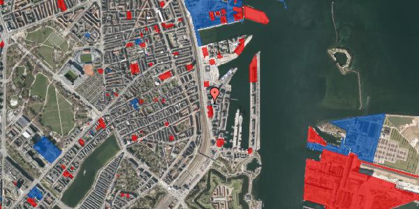 Jordforureningskort på Amerika Plads 17, 2. , 2100 København Ø