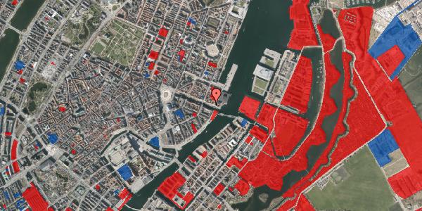 Jordforureningskort på Nyhavn 65A, 1051 København K