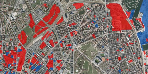 Jordforureningskort på Lyngbyvej 24, st. , 2100 København Ø