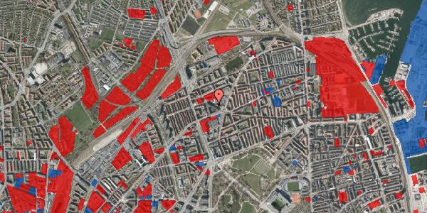 Jordforureningskort på Æbeløgade 5, 2100 København Ø